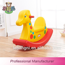 Environmental Protection China Supplier Small Toy Plastic Kid Rocking Horse