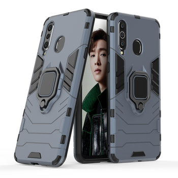 Wholesales Creative Car Magnet Shockproof Fing Holder Mobile Phone Case For Samsung A8S Cover