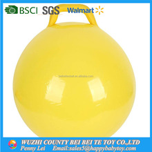 Inflatable Plastic PVC Toy Hopper Ball with round handle