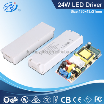 6W 15W 24W 36W power adapter for LED light with 3-36V output
