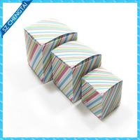Small paper corrugated box promotional for gift