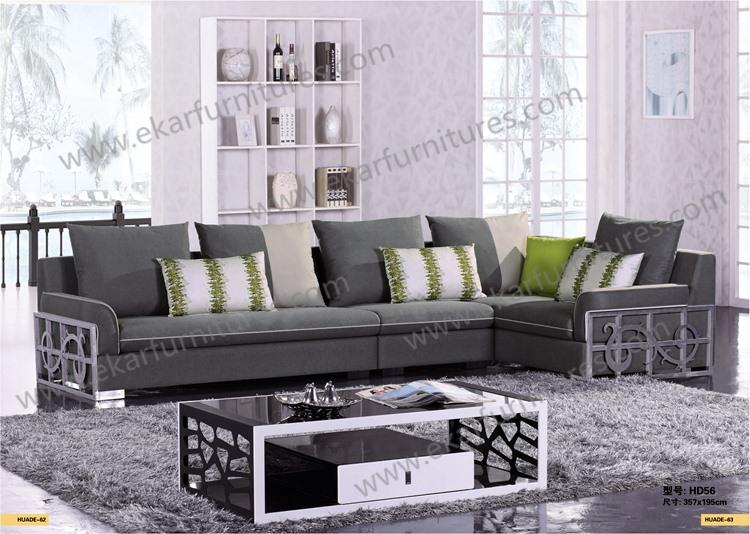 Tissu canap ensembles grande coupe canap s salon suite for Canape grande longueur