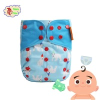 Top Quality Washable Printed organic Cloth Diaper Baby Diaper Wholesale