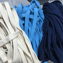 Wholesale 10mm Flat Cotton Cord for Hoodie Drawstring
