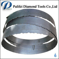 Replacement Band Saw Blade With Sintered Diamond Segment for Diamond Band Saw Blade for Marble Stone Cutting