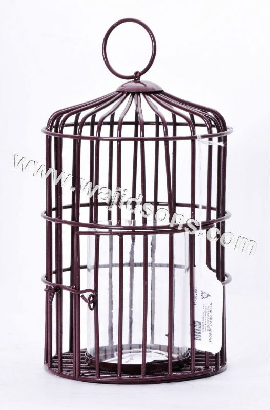 Top Roof Hot Sale Large Metal Parrot Bird Cage | big wire cages for bird parrot indoor and outdoor | antique bird cage