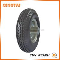 PU foam wheel flat free cart tyre