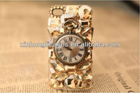 Clock Pocket Watch Time Indicator 3D Hard Back Cover Case for iPhone 4 4S 5