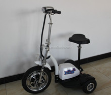 500w 48v zappy 3 wheel electric mobility scooter / the disabled three wheel motorcycle with CE