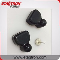 ETAGTRON High quality Eas Security hard tag Smart anti-theft Triangle Tag for garments
