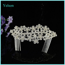 Fashion Women's Bridal Crystal Hair Comb/Indian Wedding Hair Accessories
