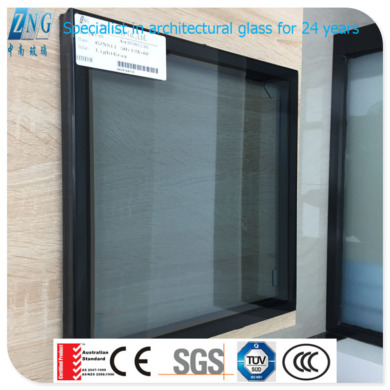 088 Insulated low-e glass facades for commercial buildings certified with Australian Standard AS2208 : 1996