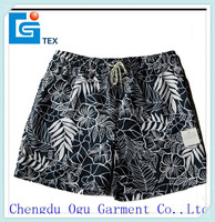 stylish quality 100% microfiber polyester mens mesh swim shorts for wholesale