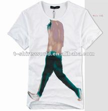 good quality heat transfer abstract image printing t-shirt