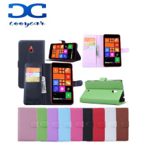 Luxury Wallet PU Leather Back Cover Phone Case For NOKIA Lumia 1320