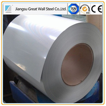 China good PPGI/zinc coated prepainted galvanized steel coil/color coated corrugated metal house roofing sheet