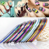 Sweet Nail Art Gel Polish Stickers For Manicure Beauty Nail Tools more Style Optional