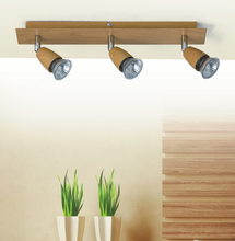 China import home decor track light fixture wood ceiling lamp base