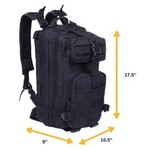 Durable large capacity army camouflage tactical military backpack