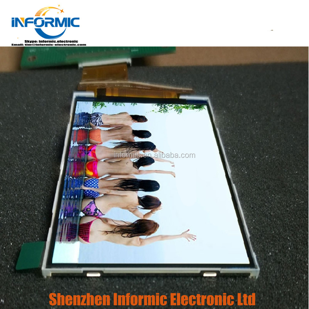 "3.5"" TFT LCD for LG IPS ILI9488 Screen Module 480x320 with touch"