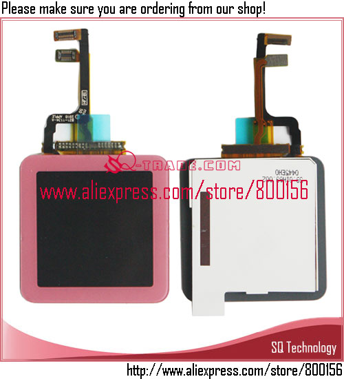 Alibaba China Pink color New LCD Display Screen+Digitizer Touch Screen Assembly for iPod Nano 6 6th