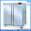 Free Standing Movable 22 Trays Electric Double Door Large Food Warmer With Wheels