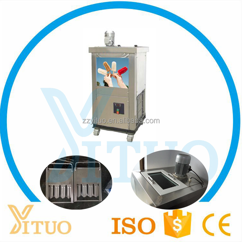 Easy Operation Big Volume Industrial Ice Popsicle Making Machine