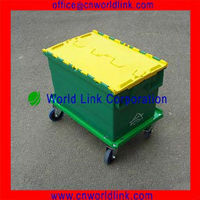 4 Wheels Office & Market Use Plastic Multipurpose Mover
