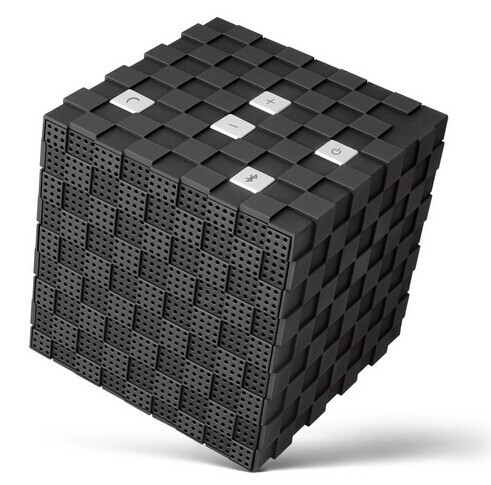 Free Shipping Output 8W Subwoofer Speaker Rubik's Cube Style Portable Wireless Bluetooth Speaker