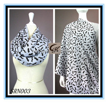 2016 mom breastfeeding nursing scarf shawl birds cotton jersey infinity nursing scarf