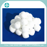 Medical absorbent cheap alcohol cotton balls