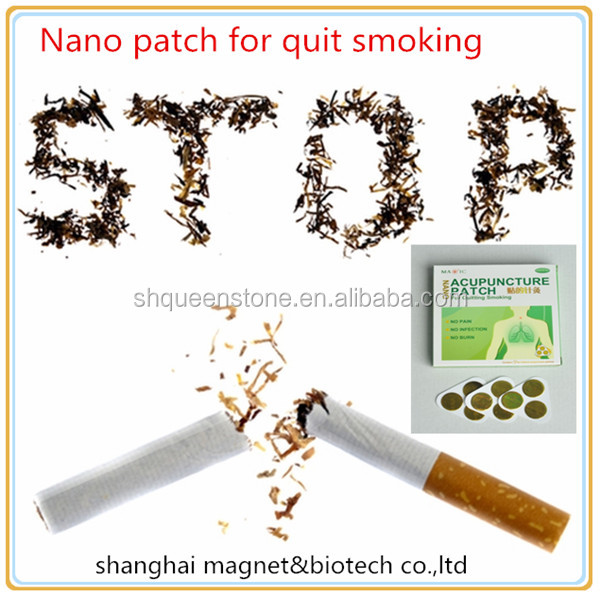 9pcs/box Stop Smoking Patches magnetic biotech Stop Smoking Anti Smoke Patch