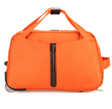 waterproof foldable trolley bag luggage trolley case suitcase board chassis oxford men and women