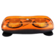 Amber Mini Led Light Bar, 12V-24V 24LED*3W Strobe Light Bar with Magnet Bolt for Car Policecar Truck Forklift