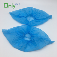 Wholesale Price Disposable Non Woven PP Fabric Dust-proof Waterproof Shoe Cover