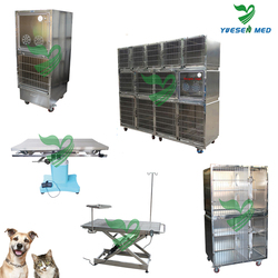 Customized medical vet clinic 201 or 304 stainless steel extra large dog kennels