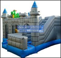 Castle Moonwalker Inflatable
