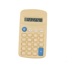 Plastic Material Promotion 8 Digits Kids Using Mini Calculator