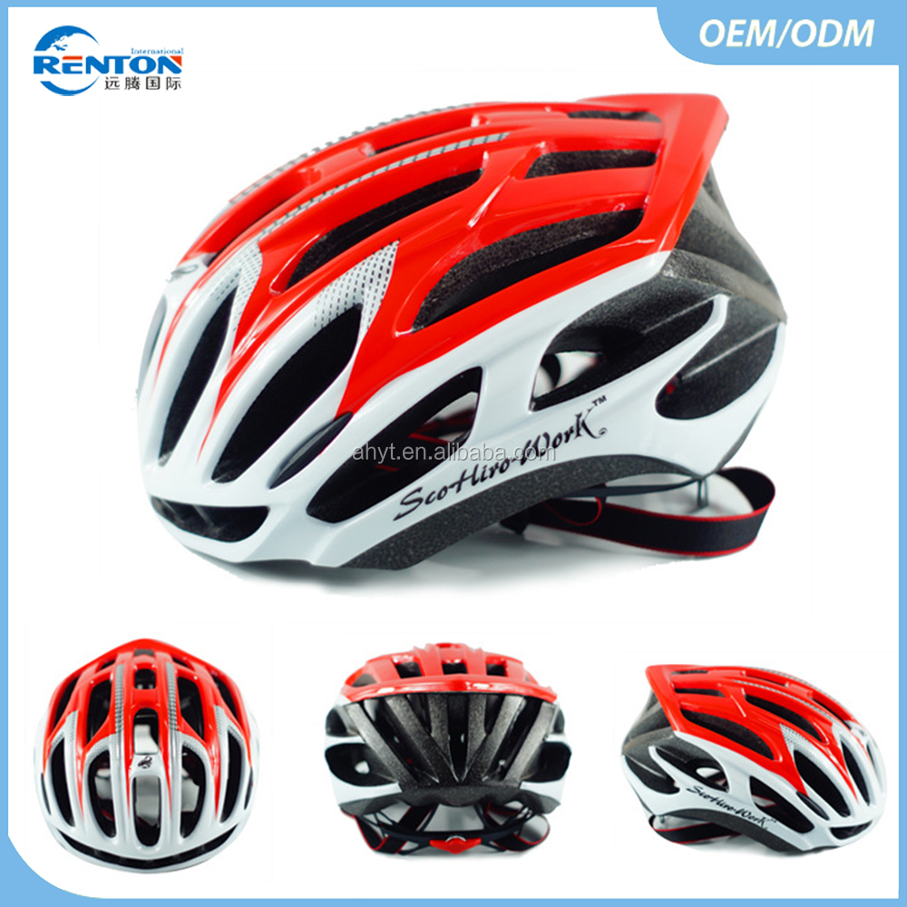 Popular in-mold OEM Matt Road Bike Helmet Adult Bicycle Helmet Protect Head