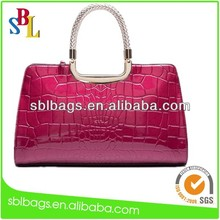 Mexican leather handbags&genuine leather handbag&high quality leather handbag SBL-5771