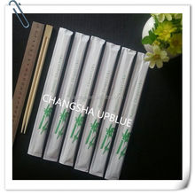 8 pairs no paint bamboo chopsticks made in China