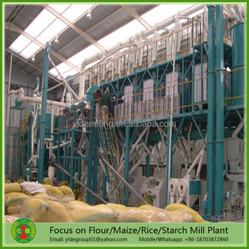 Low price High cost-performance maize flour mill machine