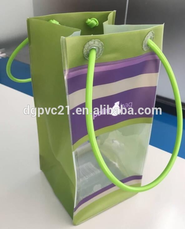 Promotional Plastic Wine Bag/Gift wine Bag for wine from <strong>trade</strong> assurance supplier