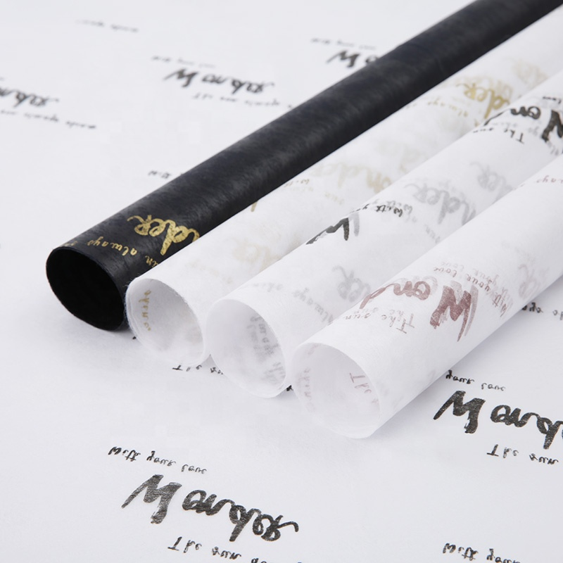 Valentine'S Day New Design Custom Logo Printed Nonwoven Tissue Paper