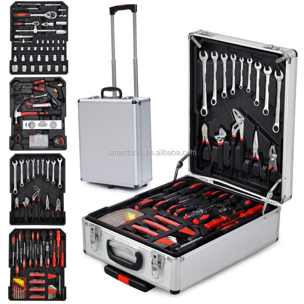 599pcs Hand Tool sets with Alu. Case