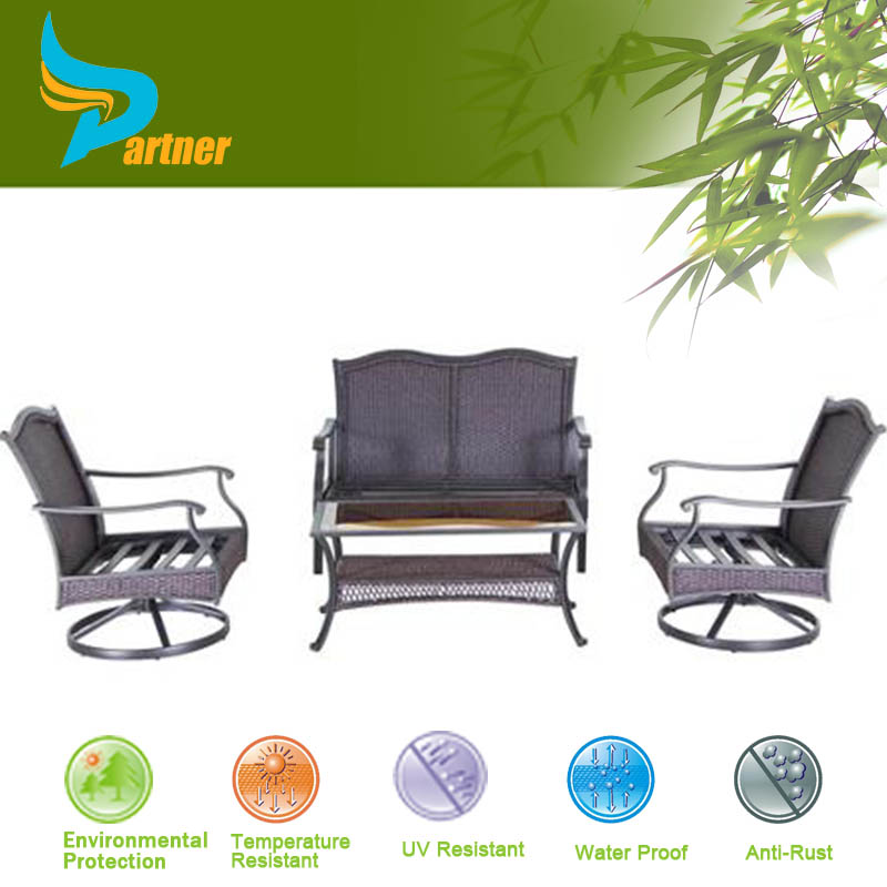 2015 Hot Sale Aluminum Frame Furniture Factory Direct Wholesale We Buy Antique Heb Wrought Used Cast Iron Patio Furniture