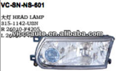 Headl Lamp For Nissan Sunny Sentra B13 2005 Mexico type