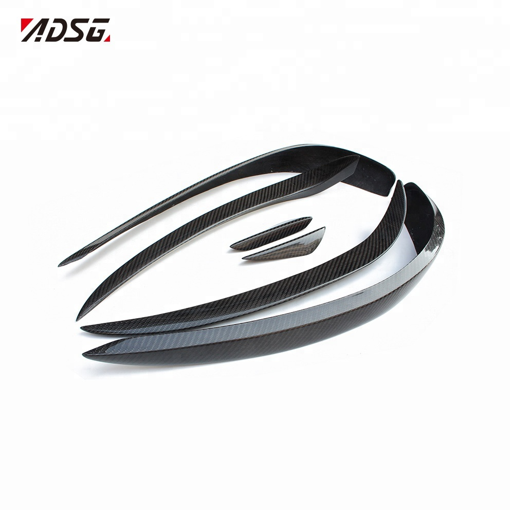 Mercedes C117 front Bumper Canards Carbon Fiber for Benz CLA Class X117 <strong>W117</strong> 2012 - 2015