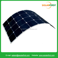 60w,80w,100w 120w,140w,150w,170w marine semi flexible solar panel