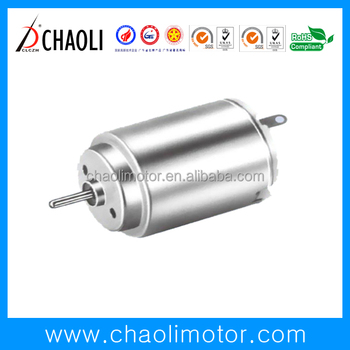 Low noise high speed chaoli model CL-RC260RA brushed motor for RC toys